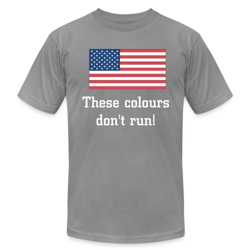 These colours don't run.... - Men's Fine Jersey T-Shirt