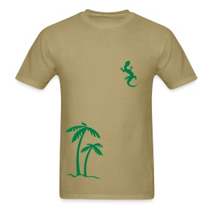 Palm Lizard - Men's T-Shirt