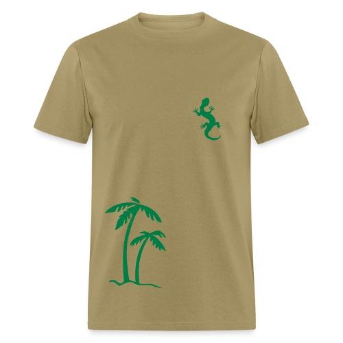 Palm Lizard - Men's T-Shirt