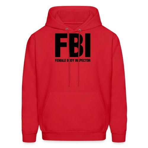 FBI on shrooms - Men's Hoodie