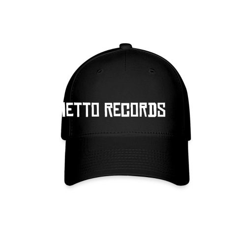 Ghetto Records Cap Black - Baseball Cap