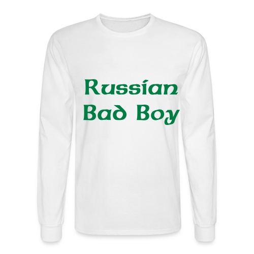 Men's Long Sleeve Russian Bad Boy HOT! - Men's Long Sleeve T-Shirt
