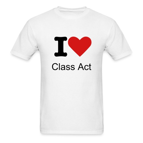 I Heart Class Act - Men's T-Shirt