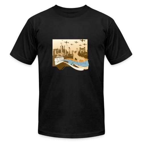 CITY VIEW - Men's Fine Jersey T-Shirt
