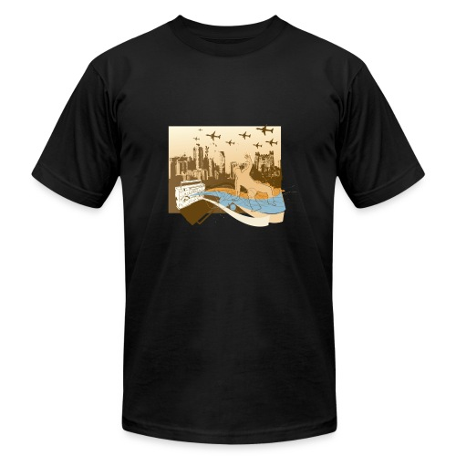 CITY VIEW - Men's  Jersey T-Shirt
