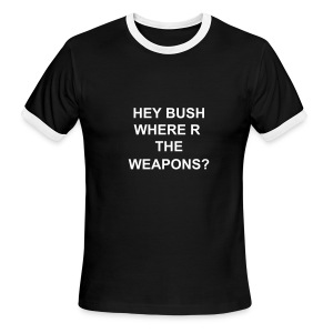 HEY BUSH - Men's Ringer T-Shirt