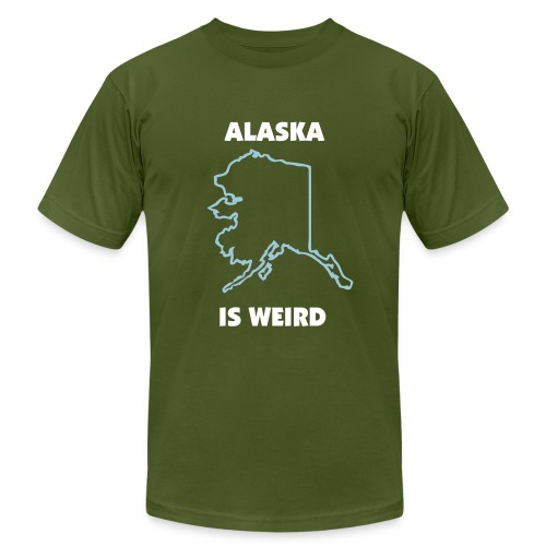 Alaska is Weird - Men's  Jersey T-Shirt