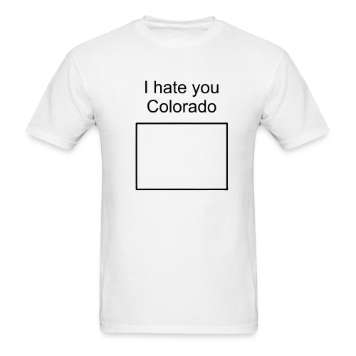 colorado sucks tee - Men's T-Shirt
