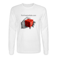 Long Sleeve Shirts ~ Men's Long Sleeve T-Shirt ~ The People's Cube