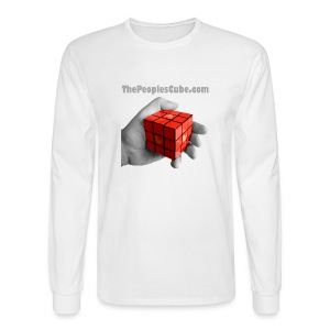 The People's Cube - Men's Long Sleeve T-Shirt