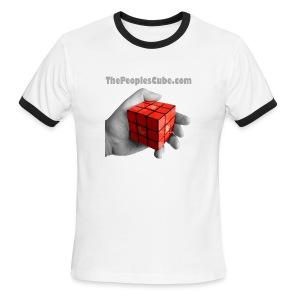 The People's Cube - Men's Ringer T-Shirt