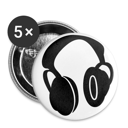 Headphone Buttons - Small Buttons