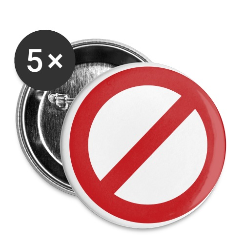 Say No Buttons - Small Buttons