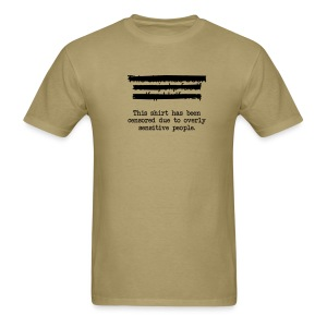 Censored Tee - Men's T-Shirt