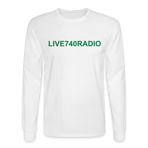 LIVE740RADIO GEAR - Men's Long Sleeve T-Shirt