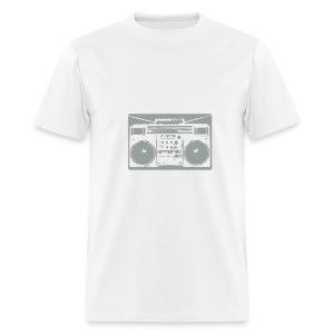 Old School Blaster (White) - Men's T-Shirt