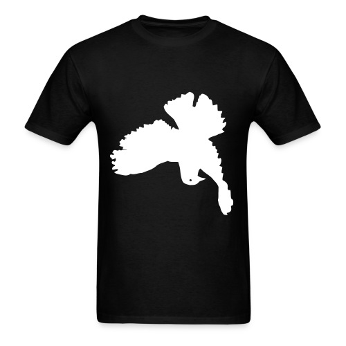 upside down peace dove - Men's T-Shirt
