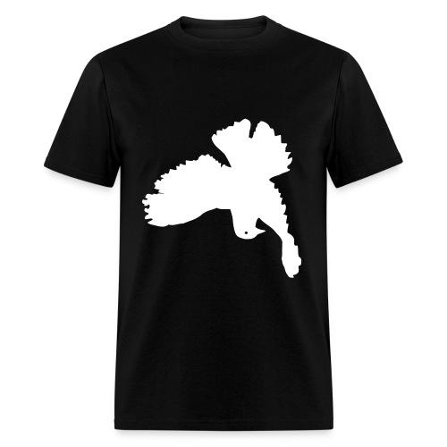upside down peace dove - Men's T-Shirt