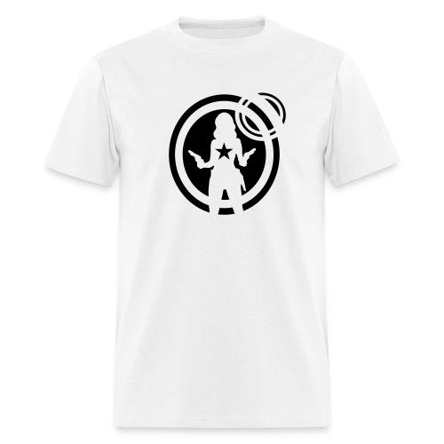 space girl pin-up - Men's T-Shirt
