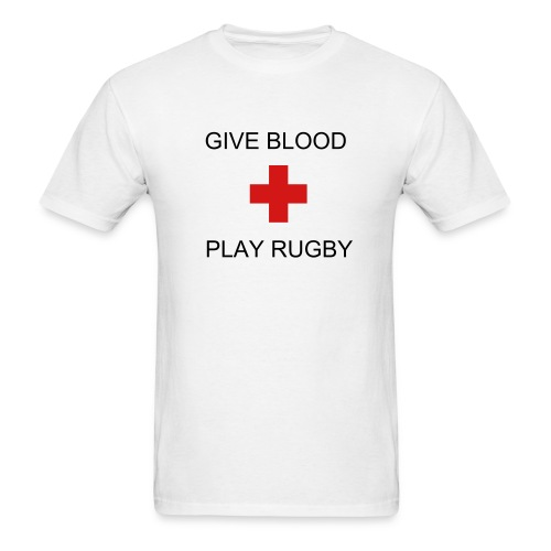 Give Blood Chest - Men's T-Shirt