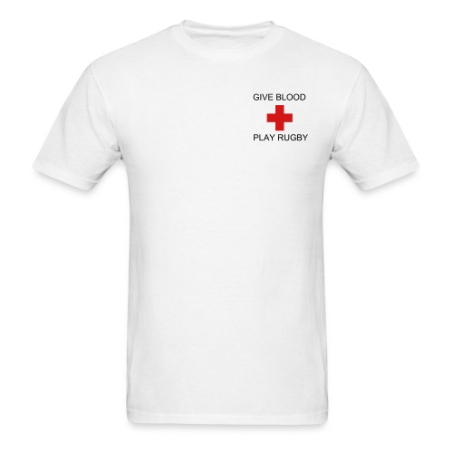 Give Blood Logo - Men's T-Shirt