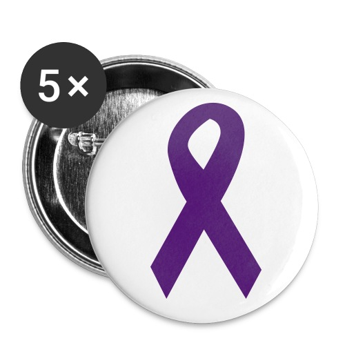 Small Buttons - 5 pack, small The $1  commission to the National Corilation Against Domest Violence.