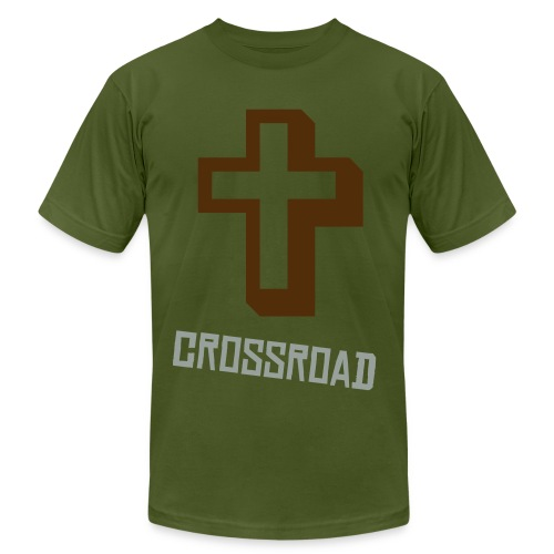 crossroads  - Men's Fine Jersey T-Shirt