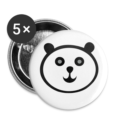 panda button - Large Buttons