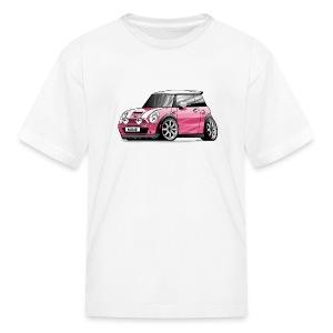Pink MINI Cooper S - Kids' T-Shirt
