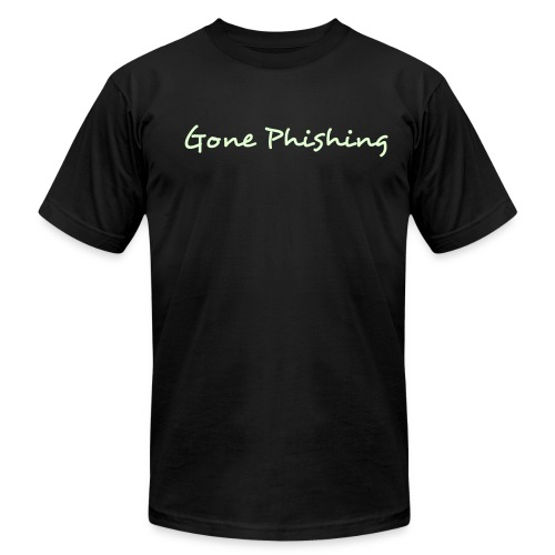 Gone Phishing - short - Men's Fine Jersey T-Shirt