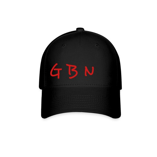 Baseball Cap - otto flex mens hat  front GBN Logo Back Guilty By Nature