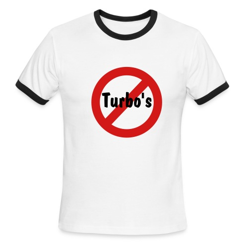 Turbo Free Guys - Men's Ringer T-Shirt
