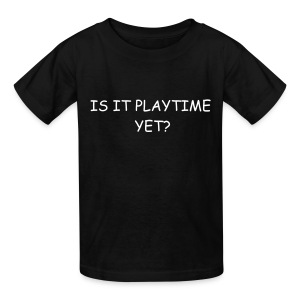Kids' T-Shirt - what else could be on a boys mind?