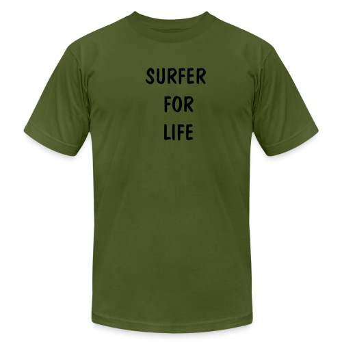 Men's  Jersey T-Shirt - FOR ALL CROWD SURFERS.