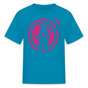 space chick - Kids' T-Shirt