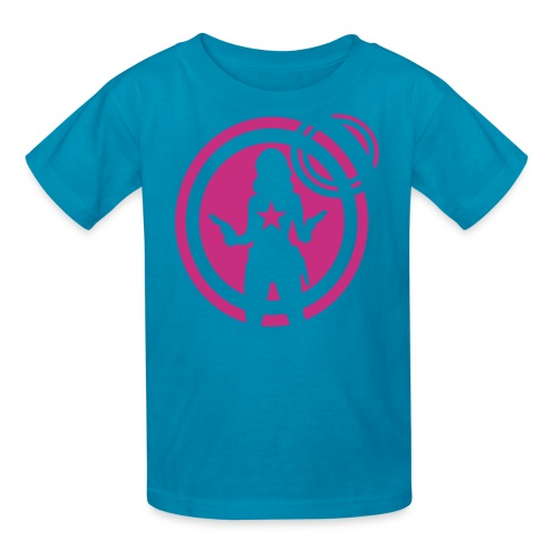 space chick - Kids' T-Shirt