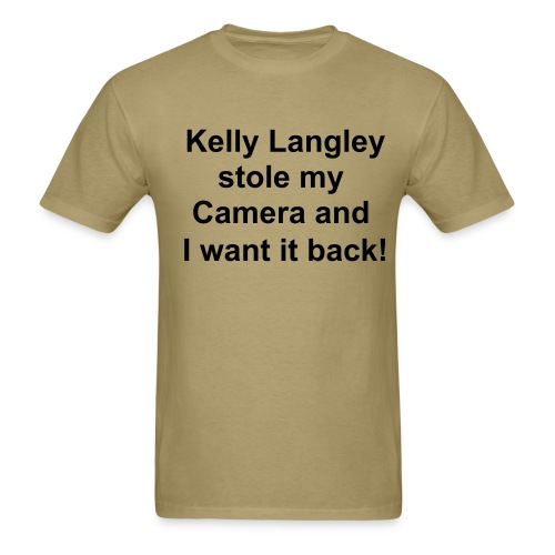 Kellys Camera - Men's T-Shirt