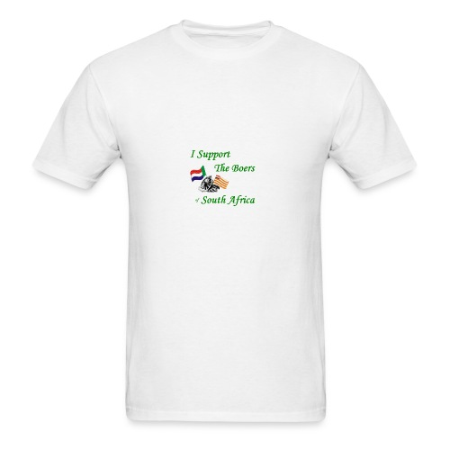 I Support the Boers - Men's T-Shirt
