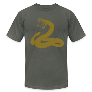 ABCD Snake  - Men's Fine Jersey T-Shirt