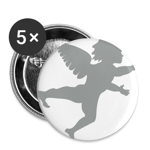 Angel Boy 1 inch - Small Buttons