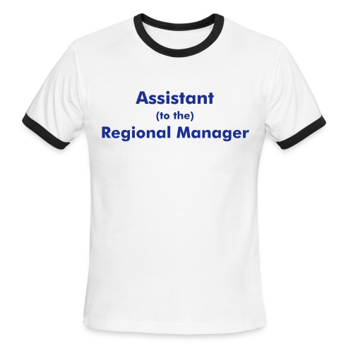 assistant (to the) regional manager - Men's Ringer T-Shirt