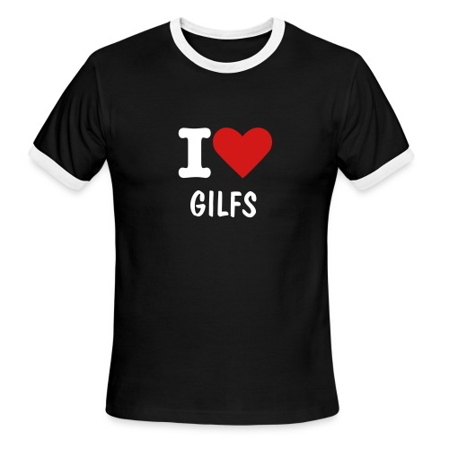 I love gilfs (Mens) - Men's Ringer T-Shirt