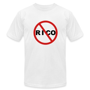 No Rico! (White) - Men's T-Shirt by American Apparel