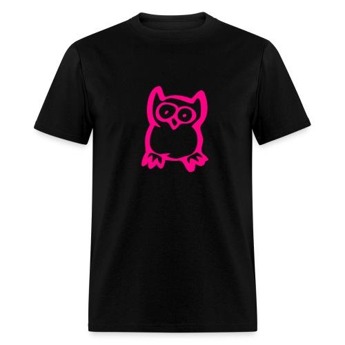 SHTS OWL PLAIN - Men's T-Shirt