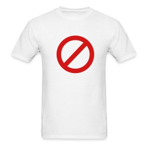 No Go ! - Men's T-Shirt