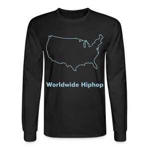 Worldwide Hiphop - Men's Long Sleeve T-Shirt