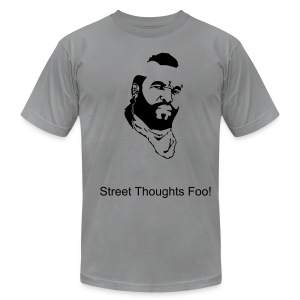 Street Thoughts Foo - Men's T-Shirt by American Apparel