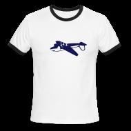 T-Shirts ~ Men's Ringer T-Shirt ~ [planehunt]