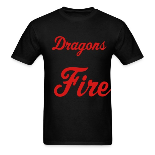 Dragons Fire T-shirt - Men's T-Shirt
