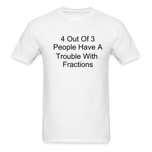 4 Out Of 3 People - Men's T-Shirt